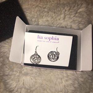NWT Lia Sofia Dangle Earrings